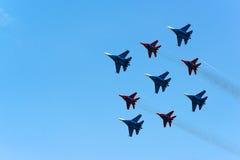 Airshow do russo Imagens de Stock Royalty Free