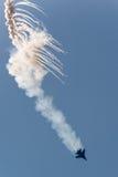 Airshow do russo Fotografia de Stock