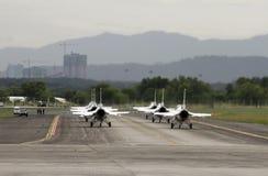 Airshow dos Thunderbirds do U.S.A.F. Foto de Stock Royalty Free