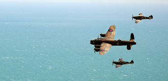 Airshow. In Eastbourne, summer, south of England in 2016 stock images