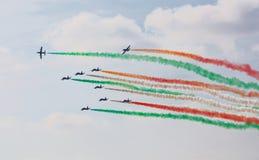 Airshow een tentoonstelling Royalty-vrije Stock Afbeelding