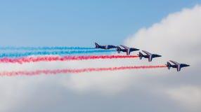 Airshow een tentoonstelling Royalty-vrije Stock Fotografie