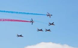 Airshow een tentoonstelling Royalty-vrije Stock Afbeeldingen