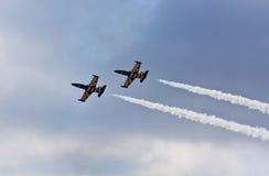 Airshow een tentoonstelling Royalty-vrije Stock Foto's