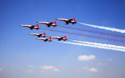 Airshow em Istambul Fotos de Stock Royalty Free