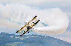 Airshow escandinavo - passarela Fotografia de Stock Royalty Free