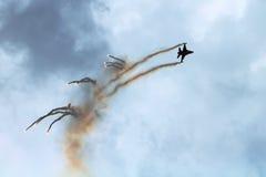 Airshow F-16 fotos de stock royalty free