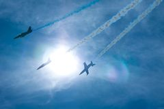 Airshow Festival Lizenzfreies Stockbild
