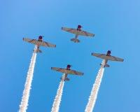 Airshow Flugzeuge Stockbild