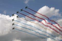 Airshow francês no ar holandês Foto de Stock Royalty Free