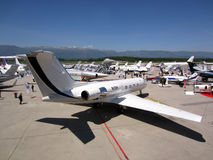 Airshow Genève 2012 d'Ebace images stock