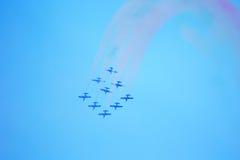 Airshow i Zhukovsky, Ryssland Royaltyfri Bild