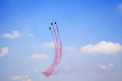 Airshow in Istanbul Stock Image