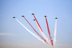 Airshow in Istanbul Royalty Free Stock Photos