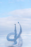 Airshow by Japanese Air Self Defense Force Royalty Free Stock Photography