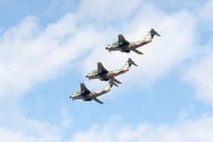 Airshow by Japanese Air Self Defense Force Royalty Free Stock Photo
