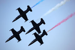 Airshow Jets in Formation Stock Photos