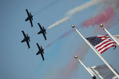 Airshow Jets in Formation Royalty Free Stock Photography