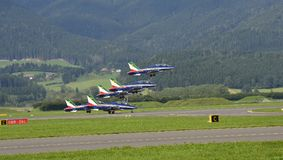 Airshow, Luftmacht 16, Stockfotografie