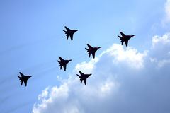 Airshow MAKS. Russia, Moscow, Zhukovsky. Royalty Free Stock Photos
