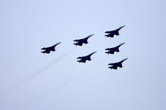Airshow MAKS. Russia, Moscow, Zhukovsky. Royalty Free Stock Photography