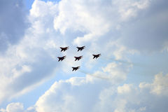 Airshow MAKS. Russia, Moscow, Zhukovsky. Stock Photography