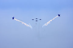 Airshow MAKS. Russia, Moscow, Zhukovsky. Stock Image