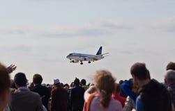 Airshow MAX-2009 en Rusia Imagen de archivo