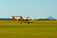 Airshow memorável Aviões de ataque da luz do bronco de Rockwell OV-10 do vintage Fotografia de Stock Royalty Free