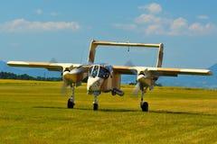 Airshow memorável Aviões de ataque da luz do bronco de Rockwell OV-10 do vintage Fotos de Stock