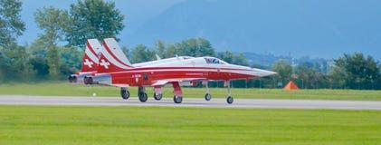 Airshow militära Italien Europa Royaltyfri Bild