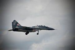 Airshow militära Italien Europa Royaltyfria Foton