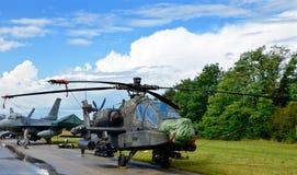 Airshow militära Italien Europa Royaltyfria Bilder