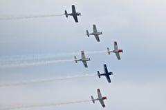 Airshow militar 2014 de la herencia de los jinetes troyanos Fotografía de archivo