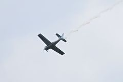 Airshow militar 2014 de la herencia de los jinetes troyanos Fotos de archivo