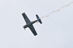 Airshow militar 2014 de la herencia de los jinetes troyanos Foto de archivo libre de regalías