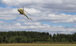 Airshow in Minsk Royalty Free Stock Photo