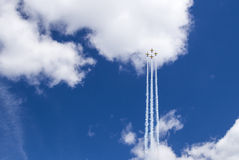 Airshow in Minsk Royalty Free Stock Photos