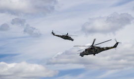 Airshow in Minsk Stock Image