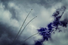 Airshow, Minsk, Bielorrússia Imagem de Stock Royalty Free
