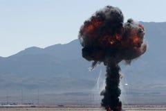 airshow Nevada bombarduje sił powietrznych Zdjęcie Royalty Free