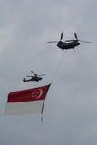 Airshow para Singapura comemora 50 anos Imagem de Stock Royalty Free