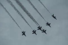 Airshow para Singapura comemora 50 anos Fotografia de Stock