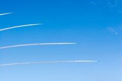 Airshow pela força de autodefesa japonesa do ar Imagem de Stock