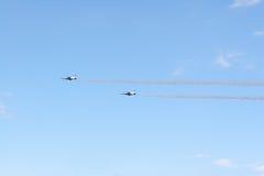 Airshow pela força de autodefesa japonesa do ar Foto de Stock