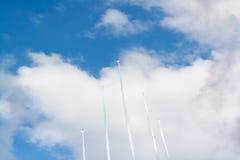 Airshow pela força de autodefesa japonesa do ar Imagem de Stock Royalty Free