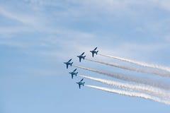 Airshow pela força de autodefesa japonesa do ar Fotos de Stock Royalty Free