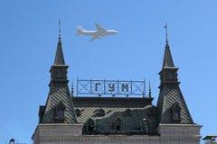 Airshow przy zwycięstwo dniem obrazy stock