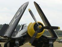 airshow samolotu duxford wwii Zdjęcie Stock