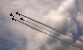 Airshow skies Stock Image